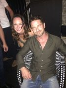 With the Gorgeous Gerard Butler
