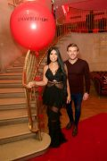 Strawberry Laser ambassadors, Cara Delahoyde and Nathan Massey at the VIP Launch Party
