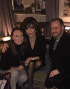 Turning on the Christmas Lights with Dame Joan Collins