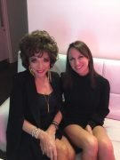 In the Green Room with Dame Joan