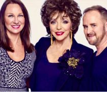 Kurt Geiger shoot with Dame Joan Collins
