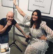 Gail Porter and Lisa Snowdon popped in to ASPR HQ