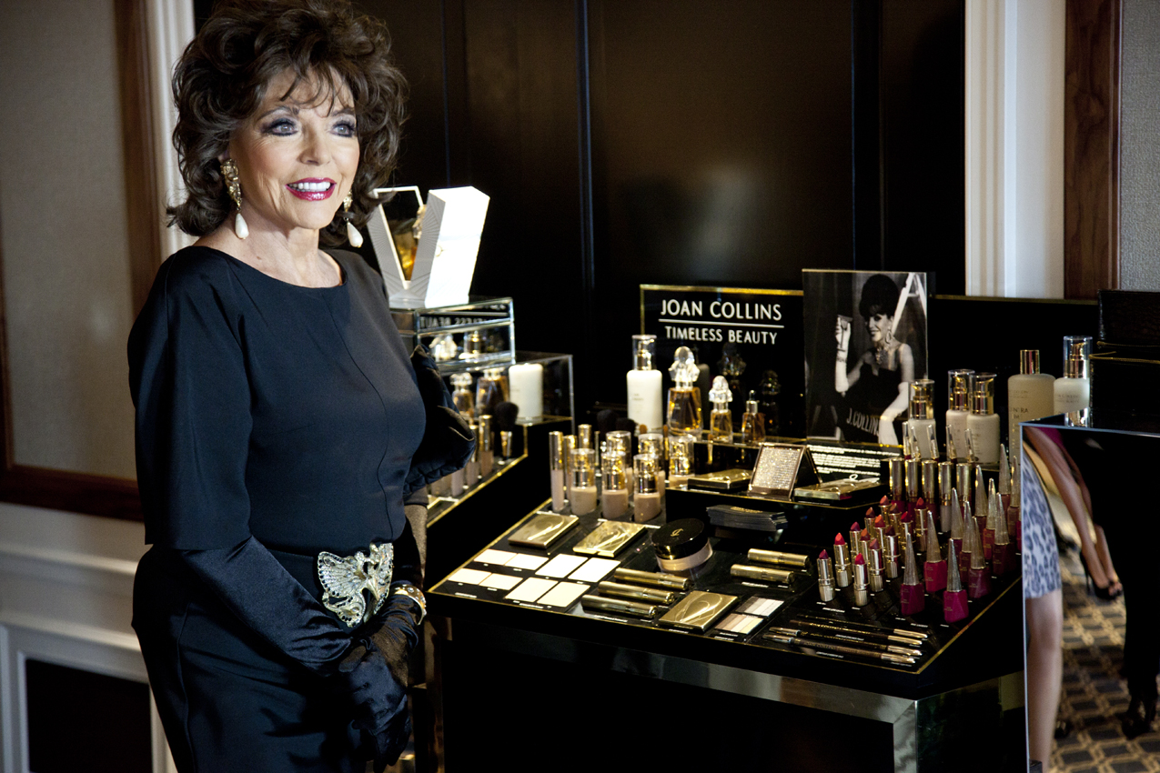 IMG 9701 Joan Collins Timeless Beauty A/W launch at Claridges: Cocktails with Joan