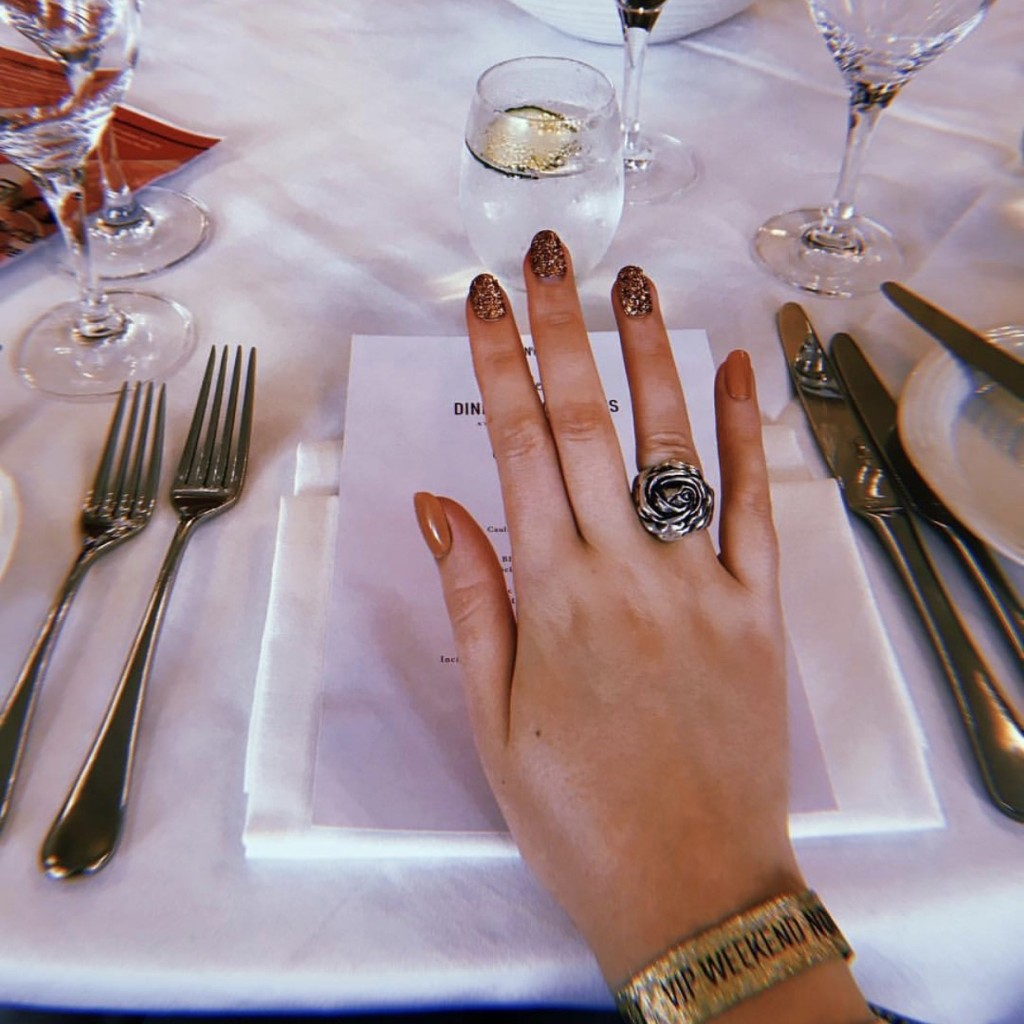 KISSxfn6 festival dining nails