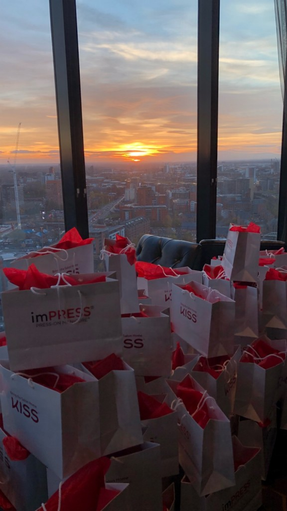 KISS goody bags ready to go at Cloud 23
