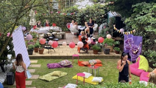 ummer party garden party beauty celebs pamper